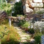 Jardín multicolor